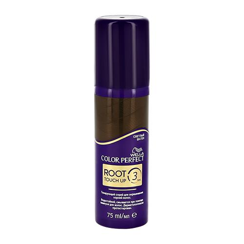 Спрей для волос тонирующий `WELLA` COLOR PERFECT тон Светлый шатен 75 мл