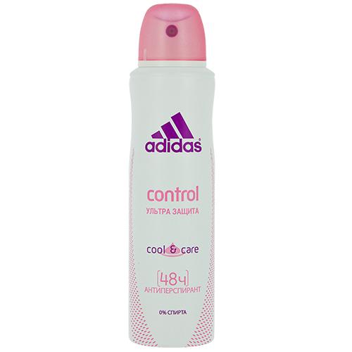 Део-спрей жен. ADIDAS COOL  CARE Control ультра защита антиперспирант 150 мл