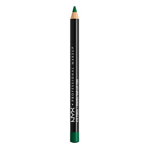 Карандаш для глаз `NYX PROFESSIONAL MAKEUP` SLIM EYE PANCIL тон 911 Emerald CityКарандаши<br>Устойчивый карандаш мягкой текстуры. Огромное разнообразие оттенков позволяет воплотить в жизнь любую makeup фантазию!<br>