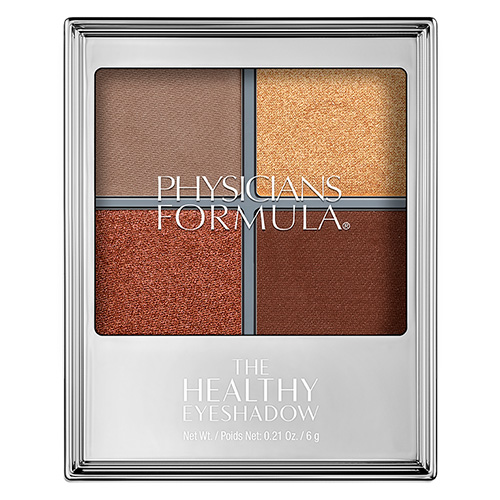 Палетка теней для век `PHYSICIANS FORMULA` THE HEALTHY EYESHADOW тон бронзовый смоки