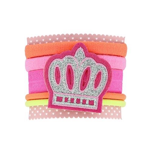 Набор резинок MISS PINKY card 6 шт