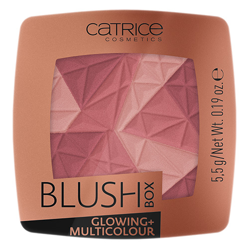 Румяна для лица `CATRICE` BLUSH BOX MULTICOLOR с эффектом сияния тон 020 It`s Wine O`clock