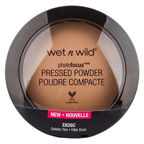 Купить Пудра компактная для лица WET N WILD PHOTO FOCUS тон E826c Golden tan, США/ USA