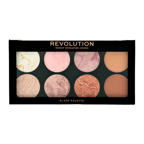 Палетка румян для лица `REVOLUTION` ULTRA BLUSH тон golden sugar