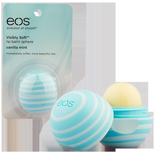 Бальзам для губ EOS со вкусом ванили и мяты 7 г, США/ USA  - Купить