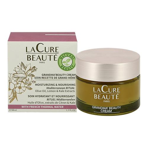 Крем для лица `LA CURE BEAUTE` с оливковым маслом (увлажняющий, питательный) 50 мл