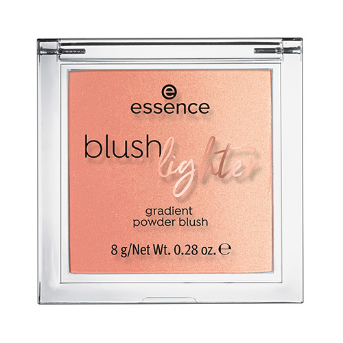 Румяна-хайлайтер для лица ESSENCE BLUSH LIGHTER тон 02