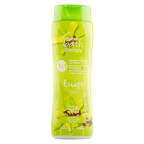 Гель для душа, пена для ванны, шампунь для волос `BATH THERAPY` ESCAPE 3 в 1 Тиаре Таити 500 млГели и кремы для душа<br>Восхитительный аромат цветка Тиаре дарит Вам ощущение бесконечного удовольствия и улучшает настроение! Специально подобранные ингредиенты придают мягкость коже и шелковистость Вашим волосам.<br>