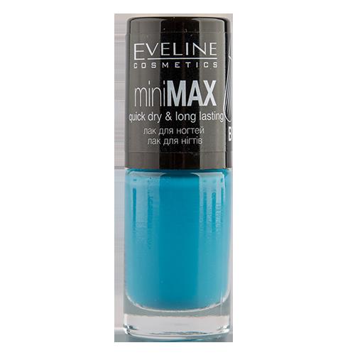 Лак для ногтей `EVELINE` MINI MAX тон 819 5 мл           а/п LL5MIMAX819Лаки<br>Лак для ногтей Mini Max PERFECT BRUSH<br>