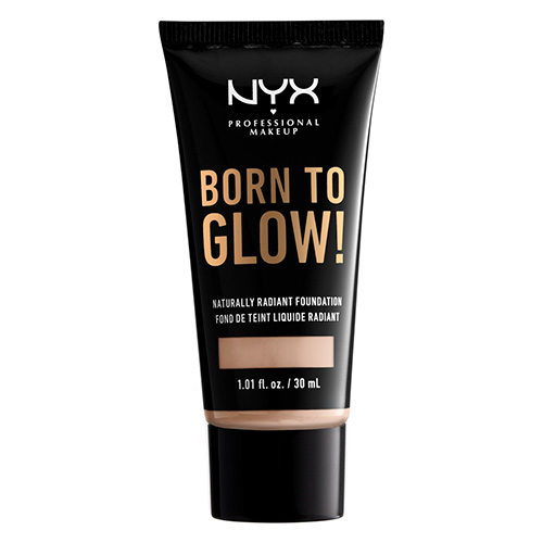 Основа тональная для лица `NYX PROFESSIONAL MAKEUP` BORN TO GLOW тон Porcelain