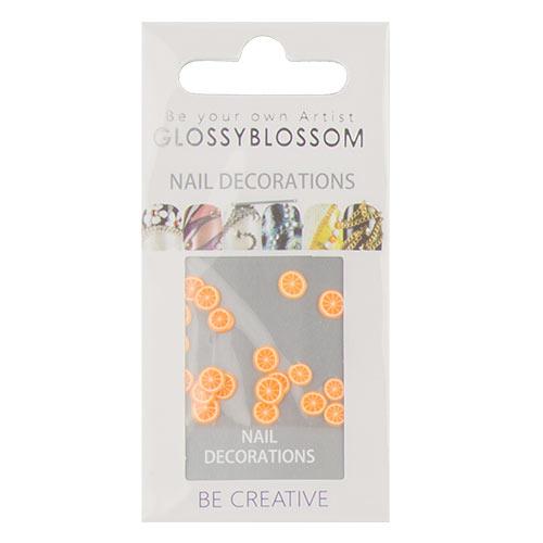 Украшения для ногтей GLOSSYBLOSSOM апельсин 3 D             а/п 71978Дизайн ногтей<br>Декоративные украшения для ногтей GlossyBlossom помогут сделать Ваш маникюр необычным, ярким и современным!<br>