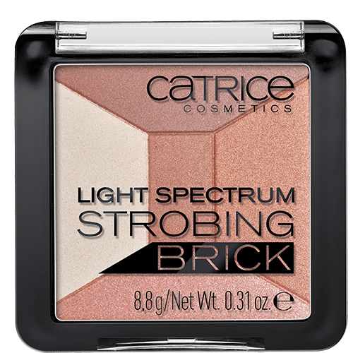 Хайлайтер для лица `CATRICE` LIGHT SPECTRUM STROBING BRICK тон 10 (5 в 1)