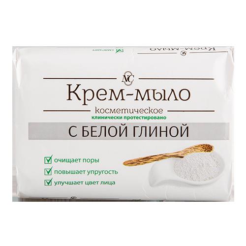 Купить Крем-мыло НЕВСКАЯ КОСМЕТИКА с белой глиной 90 г, РОССИЯ/ RUSSIA
