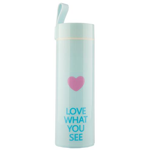 Бутылка для воды FUN HEART Blue 400 мл
