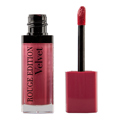 Помада для губ `BOURJOIS` ROUGE EDITION VELVET тон 11 (So hap`pink) матовая жидкая