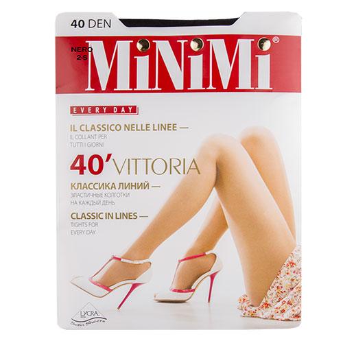 Колготки женские MINIMI VITTORIA 40 den Nero р-р 2 фото