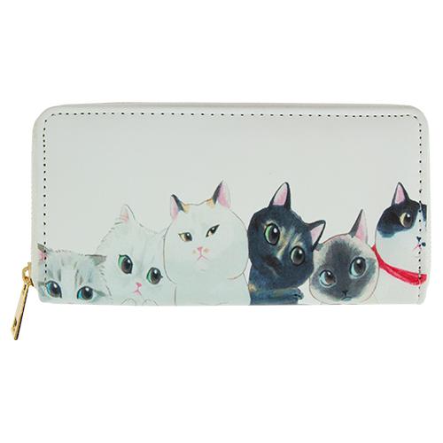 Кошелек `LADY PINK` CATS КотыПрочее<br>Яркие кошельки Lady Pink прекрасно дополнят женскую сумочку и позволят Вам выглядеть стильно и модно при любых обстоятельствах!<br>