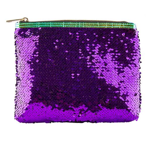 Косметичка квадратная SEQUINS LADY PINK SHINE ON фиолетоваяКосметички<br>Косметичка Lady Pink - стильное и удобное решение для хранения косметики. Большой выбор косметичек разных форм и размеров, а также ярких дизайнов позволит легко выбрать ту, которая подходит именно тебе.<br>