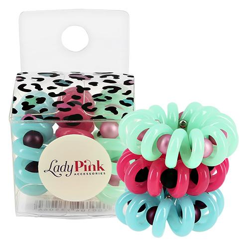 Набор резинок LADY PINK BASIC SLINKY box 3 шт фото
