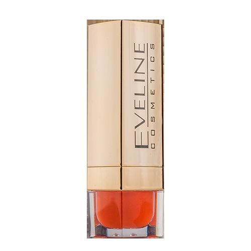 Помада для губ `EVELINE` COLOUR EDITION тон 707Помада<br>Коллекция   помадок с насыщенными и живыми цветами, соответствующими новейшим трендам в макияже.<br><br>Наслаждайтесь цветом и открывайте идеальный для Вас тон!<br><br>Кремовая и ультралегкая консистенция помады Color Edition обеспечивает удобное нанесение, a высокая стойкость позволяет наслаждаться цветом в течение всего дня. <br>Формула, обогащенная маслом алоэ и витамином Е, интенсивно увлажняет и питает.  <br><br>Элегантная золотая упаковка подчеркивает богатые цвета помад Color Edition.<br>