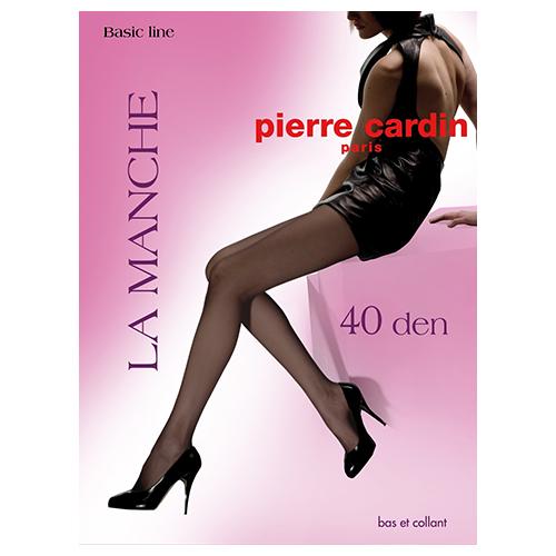 Колготки женские `PIERRE CARDIN` `BASIC LINE` LA MANCHE 40 den (Nero) р-р 4Колготки<br>Колготки шелковистые, эластичные. Мягкие комфортные штанишки. Укрепленный, прозрачный мысок. Колготки 40 дэн<br>