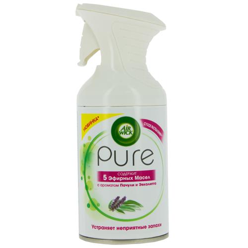 Освежитель воздуха AIR WICK PURE 5 эфирных масел с ароматом пачули и эвкалипта 250 мл фото