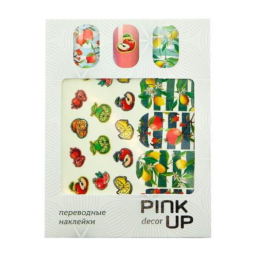 Наклейки для ногтей переводные PINK UP DECOR NAIL DESIGN тон 574