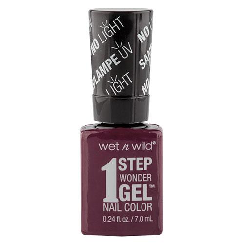 Гель-лак для ногтей `WET N WILD` 1 STEP WONDERGEL тон E7341 Under my plum 7 млЛаки<br>Лак держится до двух недель. Сохнет без использования ультрафиолетовой лампы, легко удаляется и не повреждает ногтевую пластину, не содержит толуола и фталатов.<br>