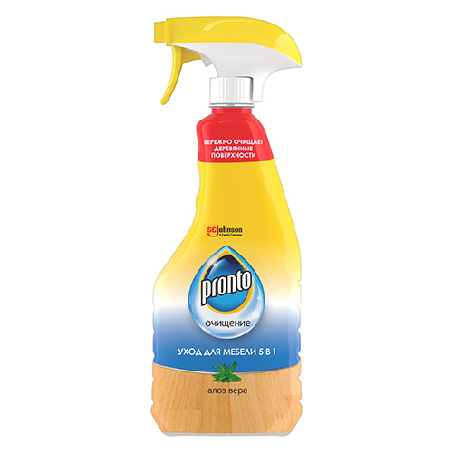 Средство чистящее для мебели PRONTO 5 в 1 Алое вера 500 мл