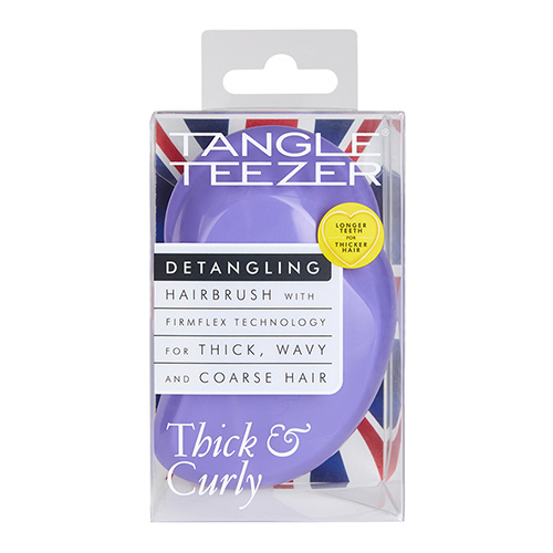 Расческа для волос `TANGLE TEEZER` THICK & CURLY Lilac fondant