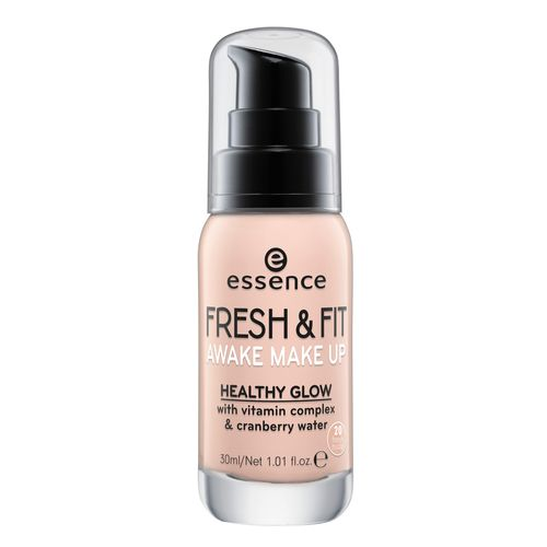 Основа тональная для лица `ESSENCE` FRESH & FIT AWAKE тон 20