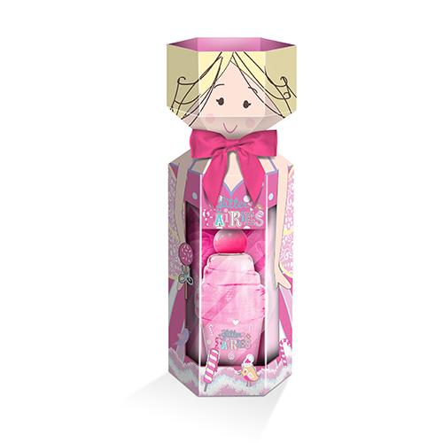 Набор подарочный детский `GLITTER FAIRIES` (гель для душа 100 мл, мочалка)Подарки<br>The LUXURY BATHING by GRACE COLE Набор подарочный детский Glitter Fairies<br>