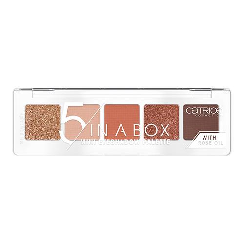 Палетка теней для век `CATRICE` 5 IN A BOX