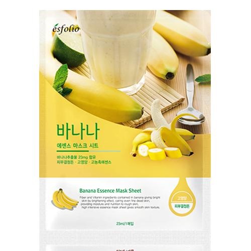 Маска для лица ESFOLIO банановая 23 мл
