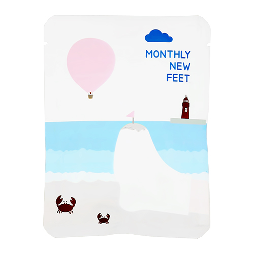 Пилинг для ног PACK AGE Monthly new feet отшелушивающий 25 г
