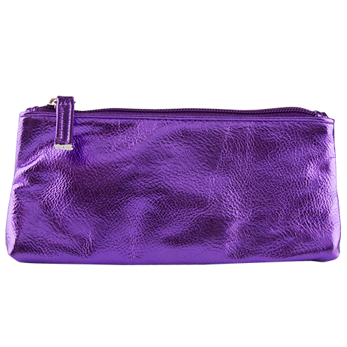 Купить Косметичка мини прямоугольная LADY PINK METAL SHOCK фиолетовая, КИТАЙ/ CHINA