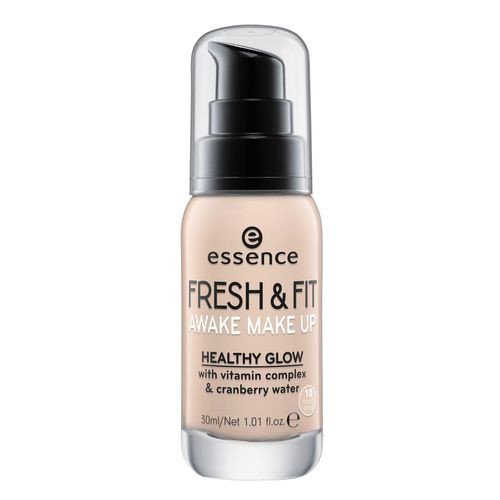 Основа тональная для лица `ESSENCE` FRESH & FIT AWAKE тон 10