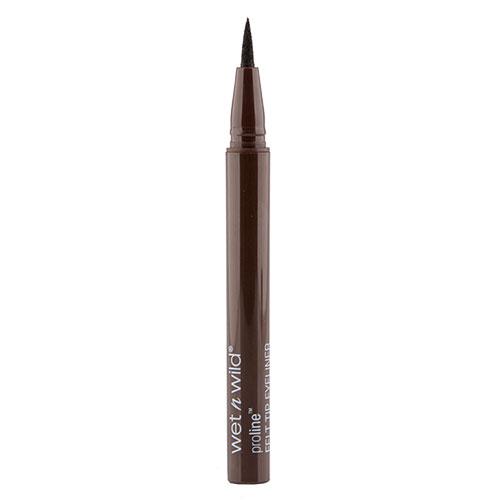 Подводка-фломастер для глаз `WET N WILD` PRO LINE коричневаяПодводки<br>Мягкий тонкий фломастер для нанесения линий и даже точек, компактный и быстросохнущий<br>
