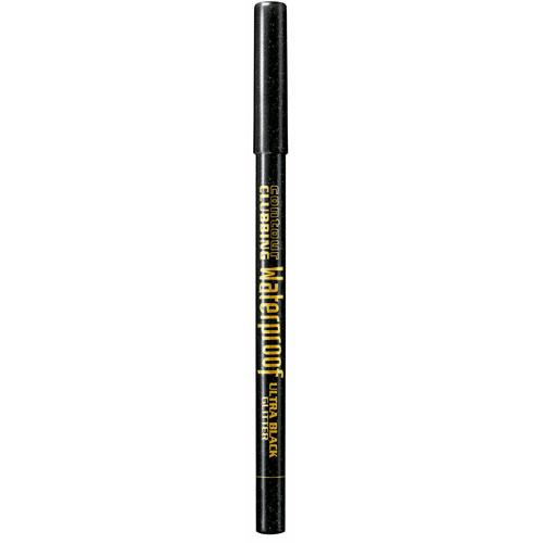 Карандаш для глаз BOURJOIS CONTOUR CLUBBING WATERPROOF водостойкий тон 55 ultra black glitter
