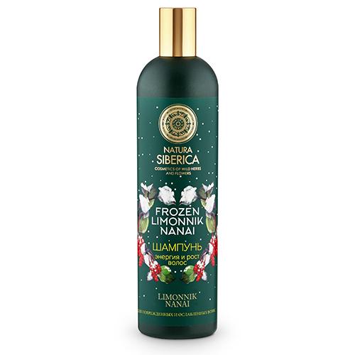 Купить Шампунь для волос NATURA SIBERICA FROZEN LIMONNIK NANAI для поврежденных и ослабленных волос 400 мл, РОССИЯ/ RUSSIA