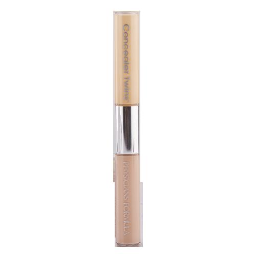 Консилер для лица PHYSICIANS FORMULA CONCEALER TWINS двухцветный с аппликатором тон желтый