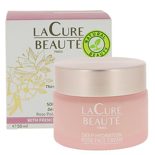 Крем для лица `LA CURE BEAUTE` глубоко увлажняющий с розой 50 мл
