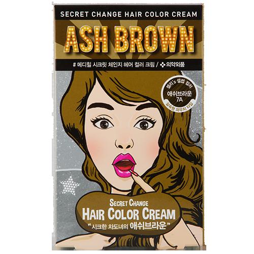 Купить Крем-краска для волос MEDIHEAL SECRET HAIR Ash brown, РЕСПУБЛИКА КОРЕЯ/ REPUBLIC OF KOREA