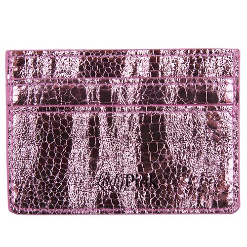 Кардхолдер `LADY PINK` PHYTON светло-розовый питонПрочее<br>Со временем женские аксессуары становятся привлекательнее и удобнее - огромные кошельки сменяются стильными и миниатюрными держателями для карт. Компактные и оригинальные, они вполне могут стать незаменимым спутником в повседневной жизни. Картхолдеры Lady Pink отличаются индивидуальным дизайном  и имеют несколько отделений, в таких моделях карточки точно не порвутся и не деформируются, а главное преимущество -  это мгновенный доступ к картам, без которых невозможно обойтись и  ни дня.<br>