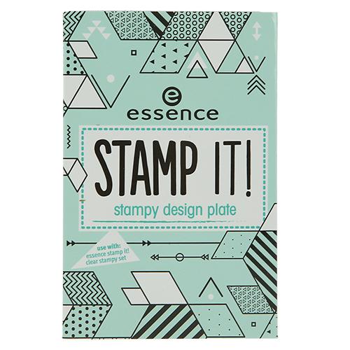 Трафарет для штампа ESSENCE STAMP IT тон 02