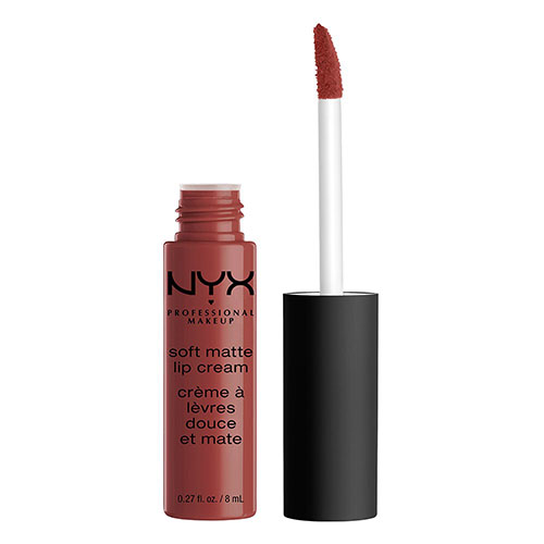 Помада для губ `NYX PROFESSIONAL MAKEUP` SOFT MATTE LIP CREAM тон 32 Rome матовая жидкая
