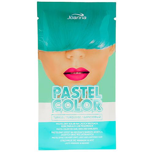 Оттеночный шампунь для волос JOANNA PASTEL COLOR тон бирюзовый 35 г