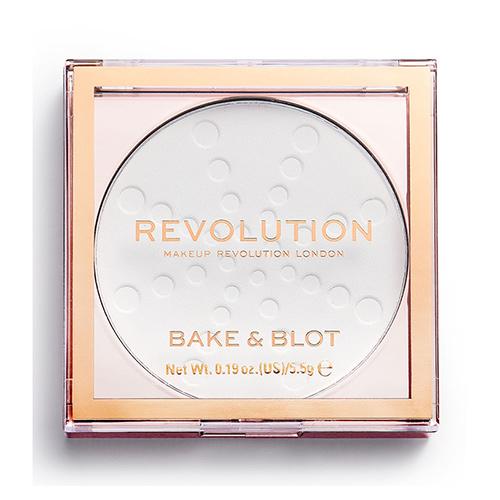 Пудра компактная для лица REVOLUTION BAKE & BLOT тон white