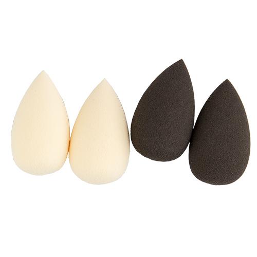 Набор спонжей для макияжа DE.CO. мини (4 шт.)Спонжи<br>Спонж каплевидный в размере мини предназначен для нанесения макияжа на труднодоступные зоны  – крылья носа, область глаз и губ. Идеально для консилера, хайлайтера, румян, скульптурирующих средств.                                                                                                                                                                                                                                                                                             В состав набора входят четыре каплевидных спонжа средней жесткости.<br>Спонжи не содержат латекса, гипоаллергенны и не имеют запаха.Секрет от DE.CO: Используйте заостренный кончик для точечного нанесения маскирующих средств, закругленные стороны - для растушевки.<br>