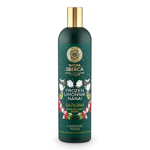 Купить Бальзам для волос NATURA SIBERICA FROZEN LIMONNIK NANAI для поврежденных и ослабленных волос 400 мл, РОССИЯ/ RUSSIA